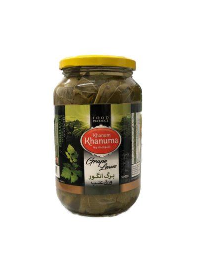 Pickled grapes leaf Khanum khanuma 700g
