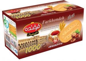 Biscuit Farkhondeh hazelnut 900g