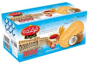 Biscuit Farkhondeh coconut 900g