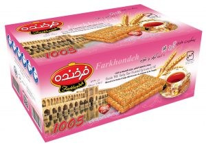 Biscuit Farkhondeh sesame and dill 850g