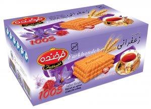 Biscuit Farkhondeh saffron 850g