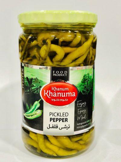 Pickled Peppers Khanum Khanuma700g