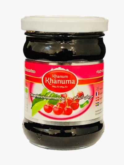 Sour cherry jam Khanum Khanuma 300g