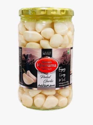 Pickled Khanum Khanuma garlic white 700g