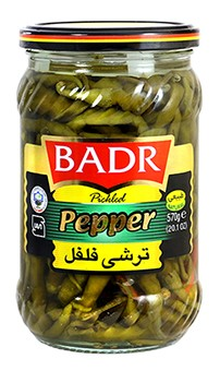 Pickled Badr pepper 700g