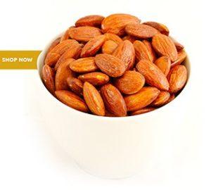 Almonds roasted with lemon juice 1kg