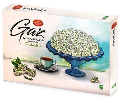 Gaz with pistachios Fantasy Loghmeh Khanum Khanuma 500g