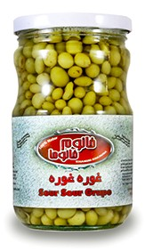 Pickled grapes Khanum Khanuma 700g