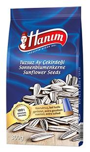 Roasted sunflower seeds Hanim extra salt 300g