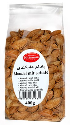 Almond with shell Khanum Khanuma400g