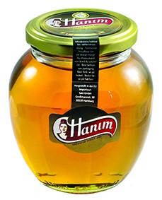 Honey with wax Hanim 12x450g