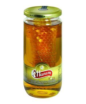 Honey with honeycomb Hanim 6x600g