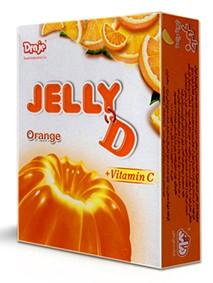Jelly powder orange 100g