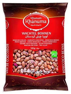 Special Khanum Khanuma rosecoco beans 500g