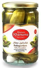Salted cucumber Khanum Khanuma momtaz G2 700g