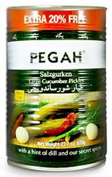 Salt Cucumbers Sandewichi Pegah 700g