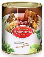 Canned khanum Khanuma Lamb's head 850g