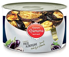 Canned Khanum Khanuma fried eggplant 450g