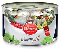 Canned Khanum Khanuma Gelehe Mahi 450g