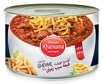 Canned Khanum Khanuma potato stew 450g