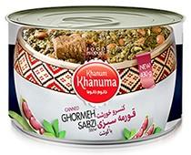 Canned Khanum Khanuma Ghormeh with meat 450g