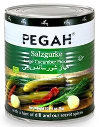 Salt Cucumbers Sandewichi Pegah 3kg