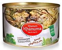 Canned Khanum Khanuma lamb's head 430g