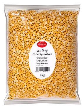 Yellow split peas 2kg