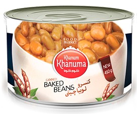 Canned Khanum Khanuma rosecoco beans 450g