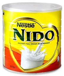 Milk powder Nido 2,5kg