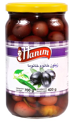 Black Olives Khanum Khanuma700g