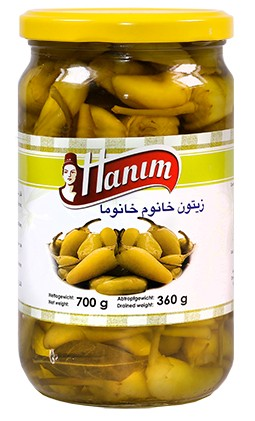 Pickled Peppers Khanum Khanuma700g