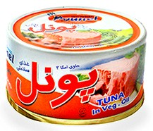 Canned Poonel tuna 175g