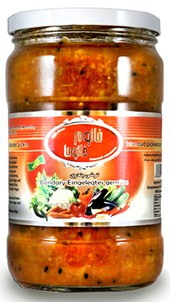 Pickled vegetables Khanum Khanuma bandari red 700g