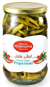 Pickled Khanum Khanuma pepperoni 700g