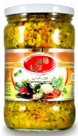 Pickled vegetables Khanum Khanuma fine 700g