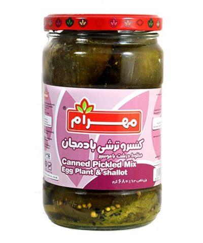 Pickles eggplant Mahram 700g