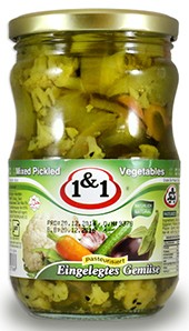 Pickled Mix 1&1 700g