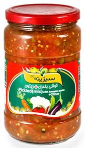 Pickled vegetable bandari with olives Sabzine 650g