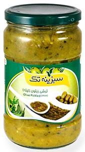 Pickled Sabzine olive Litte 650g