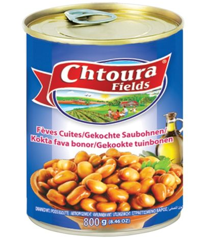 Canned fava beans Chtoura 800g