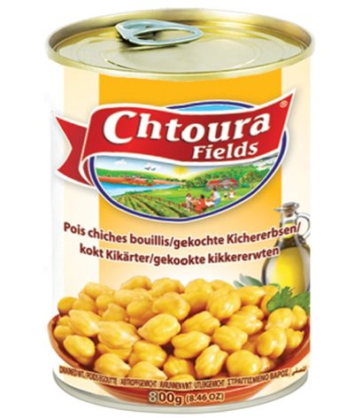 Boiled Chick-Peas in Brine Chtoura 800g