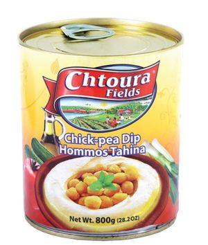 Hommos with Tahina Chtoura 800g