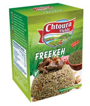 Wheat green roasted Freekeh Chtoura 700g