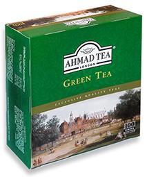 Tea bag Ahmad green 200g