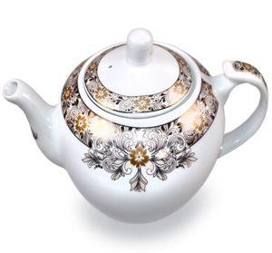 Teapot white
