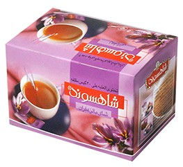 Tea bag Shahsavand saffron 40g
