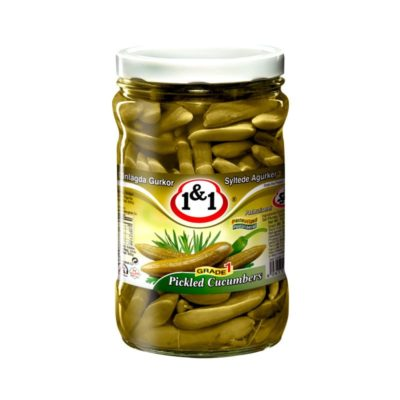 Pickled cucumber special 1&1 700g