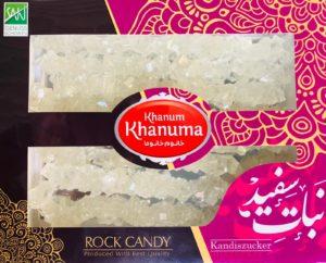 Nabat white Khanum khanuma 700g