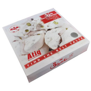 GAZ with pistachio flour Atiq 24 Pcs